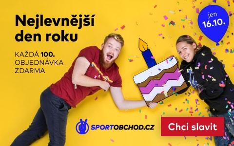 SportObchod.cz slaví 17. narozeniny