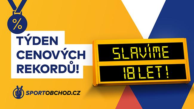 SportObchod.cz slaví 18. narozeniny